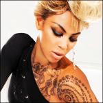 Beyonce lanza una gama de Tatuajes Temporales