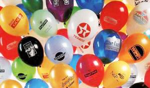 ¡Acontecimientos a todo color con los globos publicitarios precios