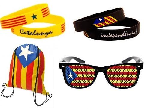 Independencia de Cataluña: el éxito del merchandising publicitario