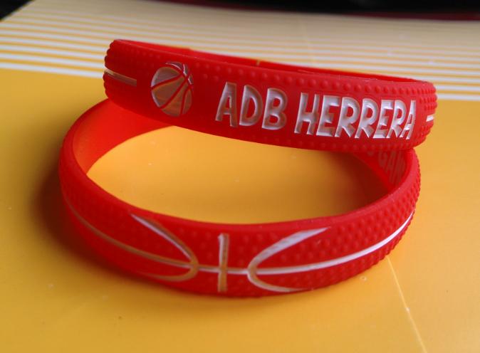 Las pulseras de silicona para los aficionados de baloncesto