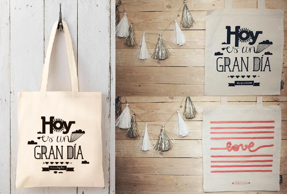 Las bolsas de tela : el fénomeno TOTE BAG
