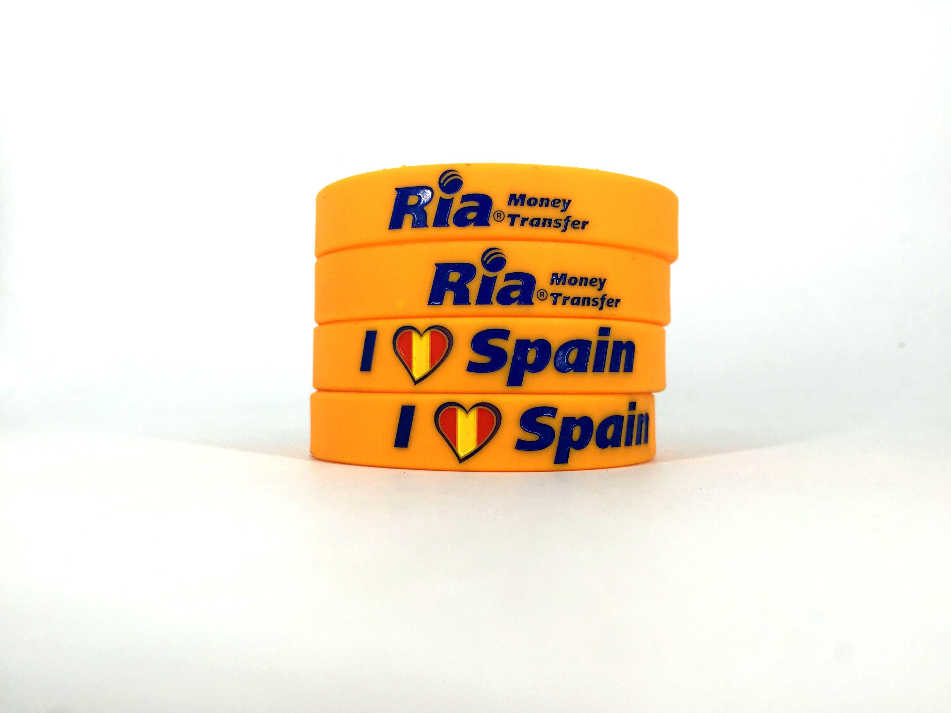 Venta pulseras de silicona baratas