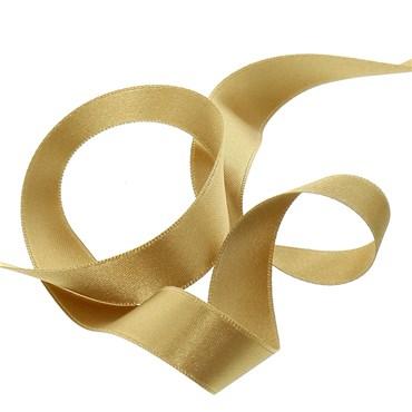 Venta pulseras de tela de color dorado