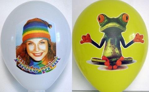 Impresión de globos a todo color