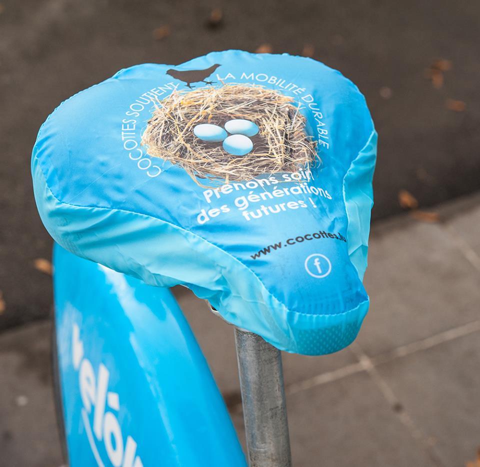 Los cubre-sillines para bicicleta